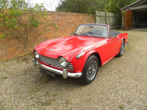 1966 TRIUMPH TR4A IRS.NUT AND BOLT REBUILD SOLD (picture 1 of 6)