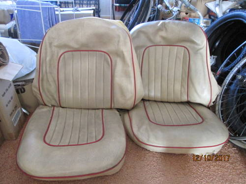 Triumph Tr4a Seat Covers And Foam Sold Car And Classic