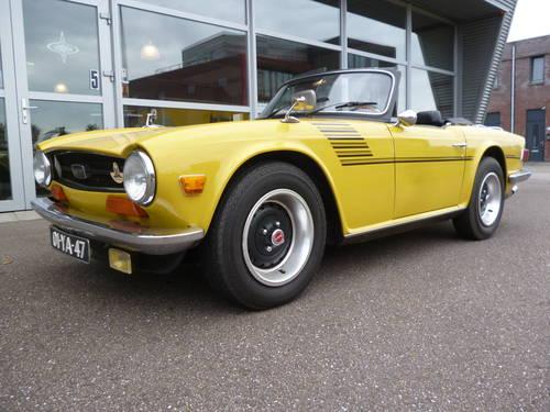 Triumph TR6 1973   33.000 miles For Sale (picture 1 of 6)