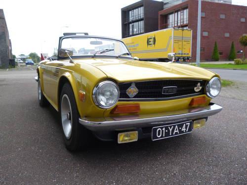 Triumph TR6 1973   33.000 miles For Sale (picture 2 of 6)