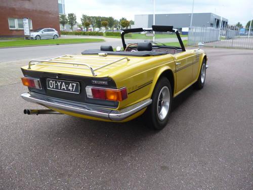 Triumph TR6 1973   33.000 miles For Sale (picture 3 of 6)