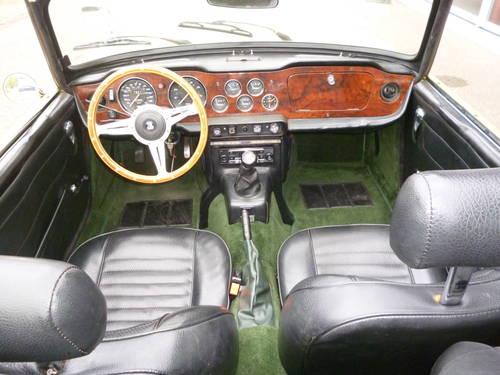 Triumph TR6 1973   33.000 miles For Sale (picture 4 of 6)