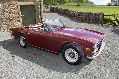Wanted Triumph TR6 Wanted (picture 1 of 1)