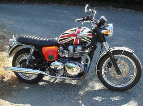 2006 Limited Edition Triumph Bonneville T100 By Paul Smith For Sale