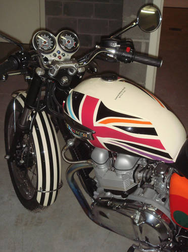 2006 Limited Edition Triumph Bonneville T100 by Paul Smith For Sale (picture 6 of 6)
