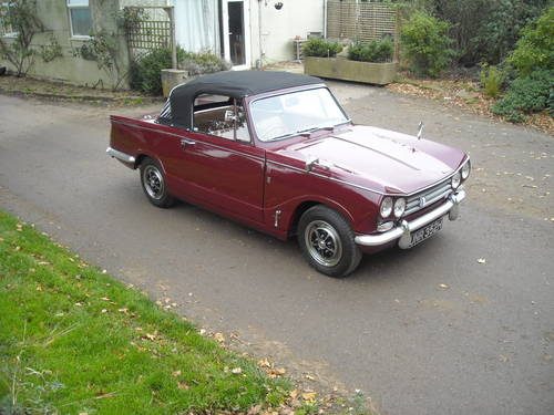 1970 TRIUMPH VITESSE MK2 2 LITRE SIMPLY STUNNING  SOLD SOLD (picture 1 of 6)