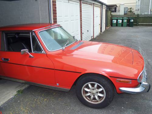 1977 Very Rare Triumph Stag SOLD (picture 1 of 2)