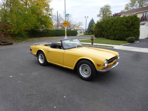 1971 Triumph TR6 With Overdrive Good Mechanics- SOLD (picture 1 of 6)