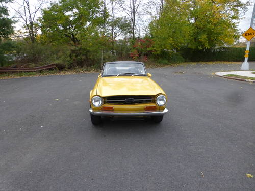 1971 Triumph TR6 With Overdrive Good Mechanics- SOLD (picture 2 of 6)