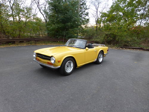 1971 Triumph TR6 With Overdrive Good Mechanics- SOLD (picture 3 of 6)