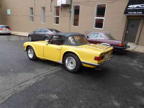 1971 Triumph TR6 With Overdrive Good Mechanics- SOLD (picture 4 of 6)