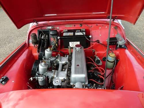 1959 Triumph TR3a, restored SOLD (picture 4 of 6)