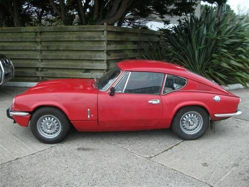 1971 Triumph GT6, one owner for 39 years, dry stored! SOLD (picture 1 of 6)