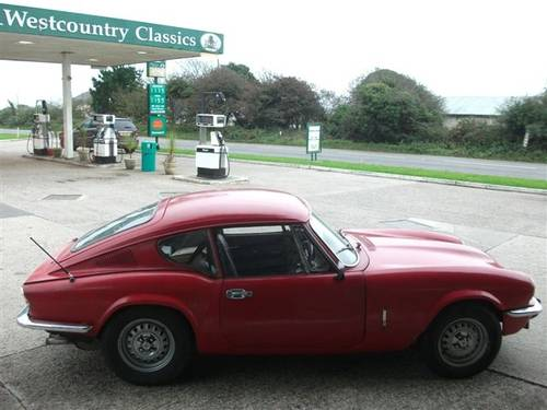 1971 Triumph GT6, one owner for 39 years, dry stored! SOLD (picture 5 of 6)