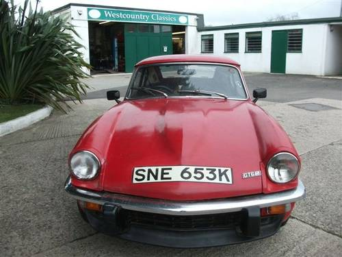 1971 Triumph GT6, one owner for 39 years, dry stored! SOLD (picture 6 of 6)