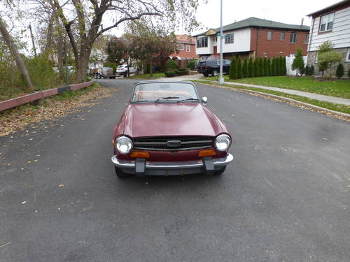 1974 Triumph TR6 With Overdrive Good Mechanics - For Sale (picture 2 of 6)