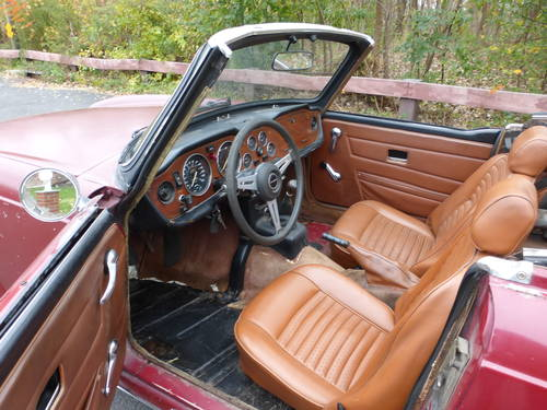 1974 Triumph TR6 With Overdrive Good Mechanics - For Sale (picture 5 of 6)