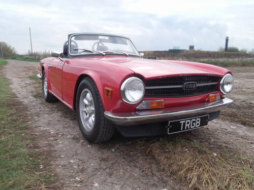 1972 TR6 150 BHP WITH OVERDRIVE SOLD (picture 1 of 5)