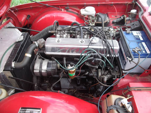 1972 TR6 150 BHP WITH OVERDRIVE SOLD (picture 2 of 5)