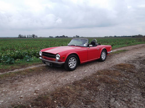1972 TR6 150 BHP WITH OVERDRIVE SOLD (picture 4 of 5)