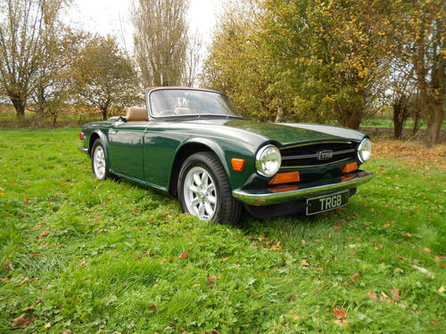 TR6 1973 WITH OVERDRIVE SOLD (picture 1 of 6)