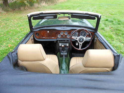TR6 1973 WITH OVERDRIVE SOLD (picture 4 of 6)