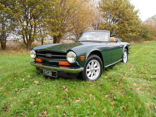 TR6 1973 WITH OVERDRIVE SOLD (picture 5 of 6)