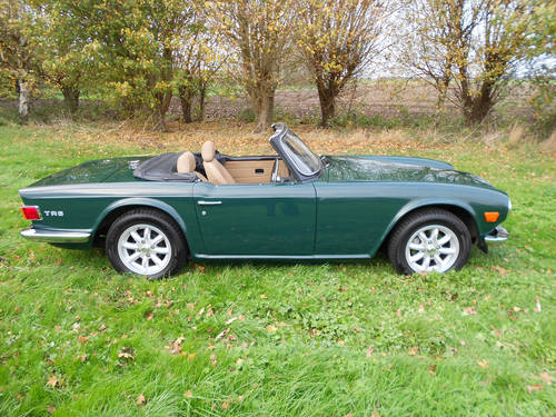 TR6 1973 WITH OVERDRIVE SOLD (picture 6 of 6)