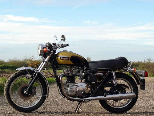 1976 Triumph T140 750 tidy, MOT ready to ride.  SOLD (picture 2 of 6)