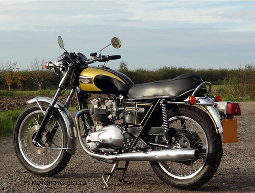 1976 Triumph T140 750 tidy, MOT ready to ride.  SOLD (picture 3 of 6)