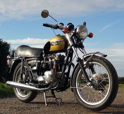 1976 Triumph T140 750 tidy, MOT ready to ride.  SOLD (picture 5 of 6)