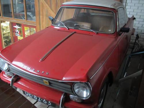 Triumph Herald 12/60 1969 (9090 Miles) For Sale (picture 2 of 6)