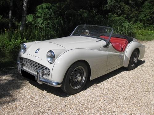 1959 Triumph TR3a SOLD (picture 1 of 6)