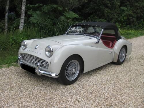 1959 Triumph TR3a SOLD (picture 2 of 6)