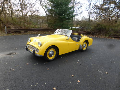 1958 Triumph TR3A Frame Off Restoration Started - SOLD (picture 3 of 6)