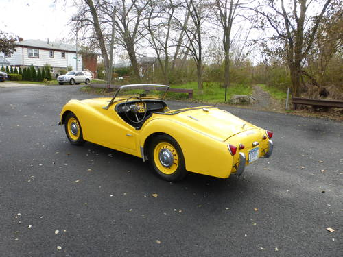 1958 Triumph TR3A Frame Off Restoration Started - SOLD (picture 4 of 6)
