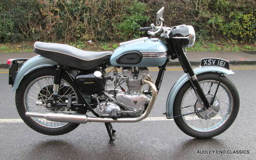 1954 TRIUMPH TIGER T100 EXCELLENT CONDITION SOLD (picture 2 of 6)