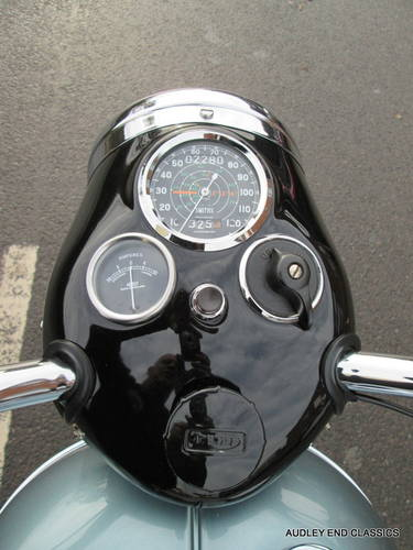 1954 TRIUMPH TIGER T100 EXCELLENT CONDITION SOLD (picture 4 of 6)