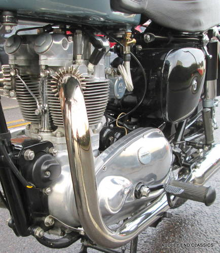 1954 TRIUMPH TIGER T100 EXCELLENT CONDITION SOLD (picture 5 of 6)