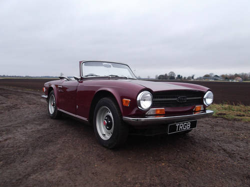 TR6 1969.ORIGINAL UK 150 BHP CAR WITH WORKING OVERDRIVE SOLD (picture 1 of 6)