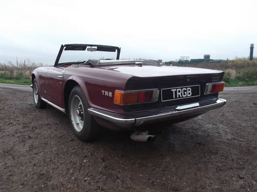 TR6 1969.ORIGINAL UK 150 BHP CAR WITH WORKING OVERDRIVE SOLD (picture 4 of 6)