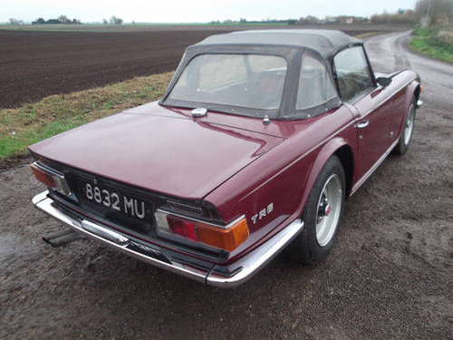 TR6 1969.ORIGINAL UK 150 BHP CAR WITH WORKING OVERDRIVE SOLD (picture 5 of 6)