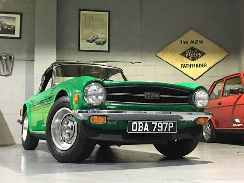 1976 Triumph TR6 LHD, Java Green SOLD | Car And Classic