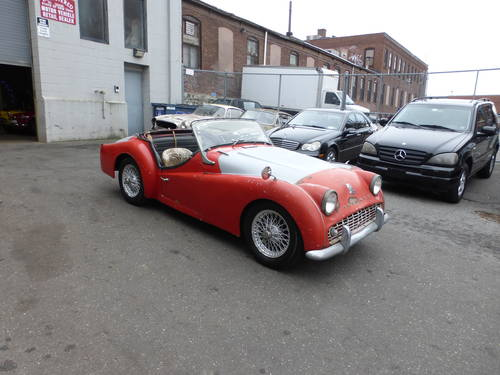 1959 Triumph TR3A For Restoration - SOLD (picture 1 of 6)
