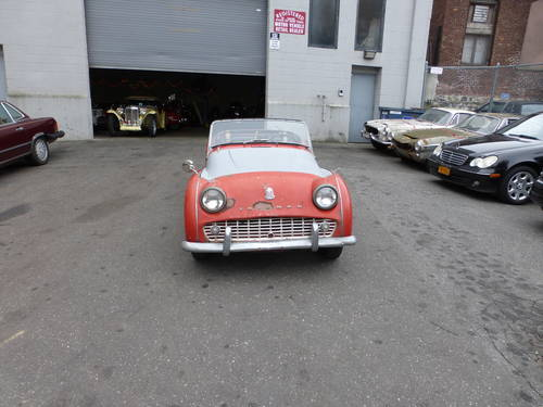 1959 Triumph TR3A For Restoration - SOLD (picture 2 of 6)