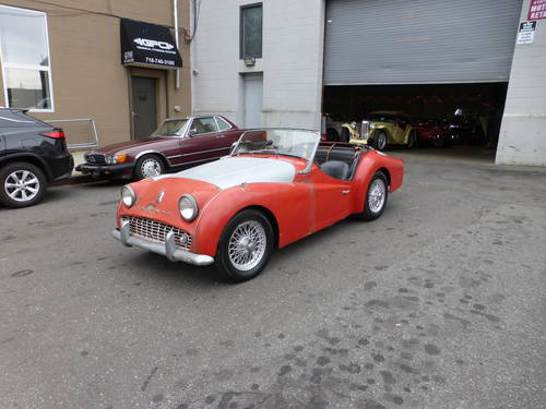 1959 Triumph TR3A For Restoration - SOLD (picture 3 of 6)