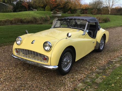1960 LHD Triumph TR3A For Sale (picture 2 of 6)