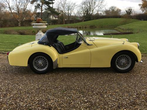 1960 LHD Triumph TR3A For Sale (picture 4 of 6)