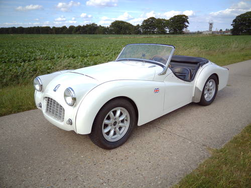 1960 Triumph TR3 lhd For Sale (picture 2 of 6)