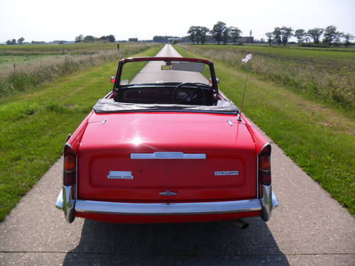 1969 Triumph Herald convertible 13/60 For Sale (picture 2 of 6)